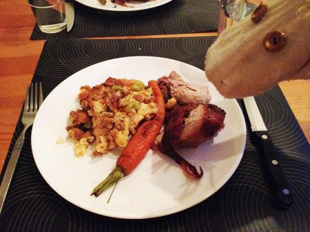 cena acción de gracias canadá