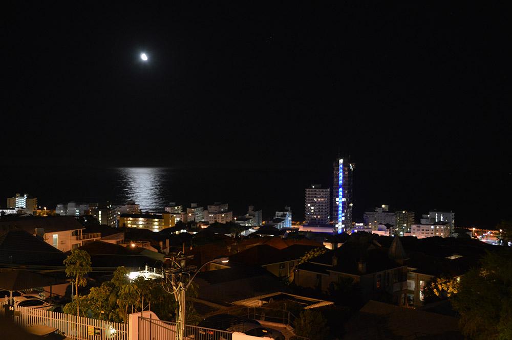 ciudad del cabo de noche