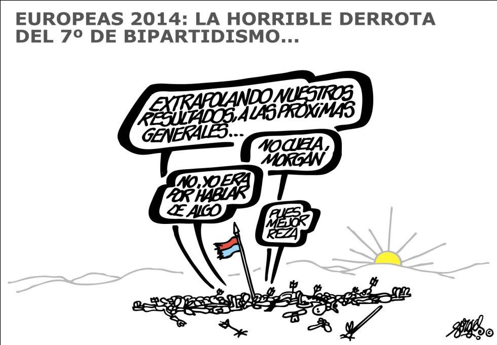 bipartidismo elecciones 2014