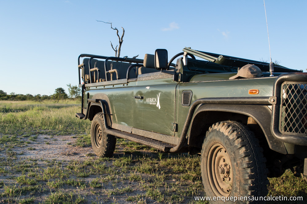 jeep africa on foot