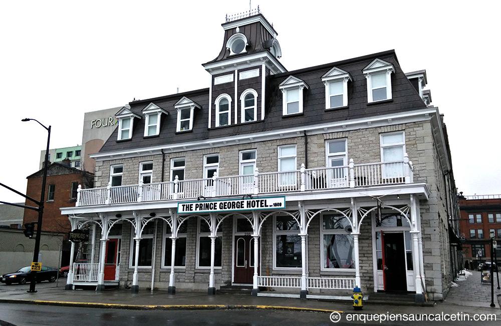 Prince George Hotel, Kingston