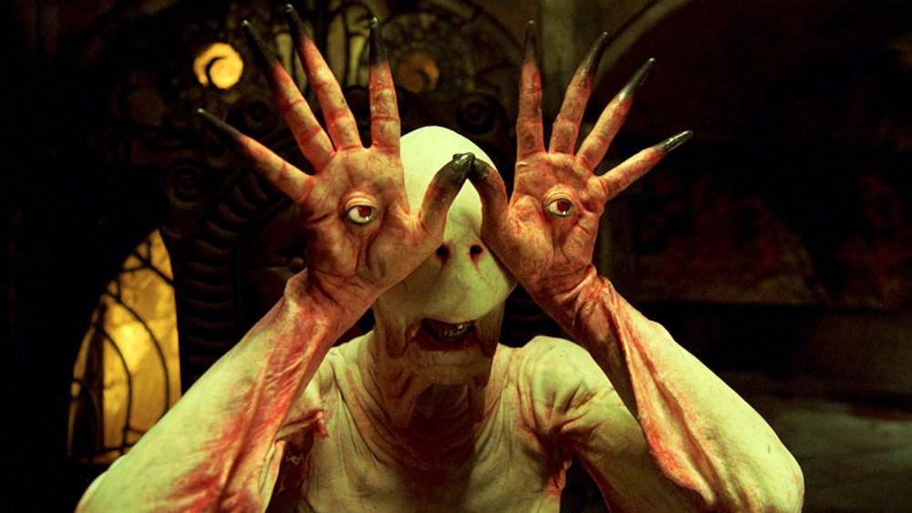 el monstruo con ojos en las manos