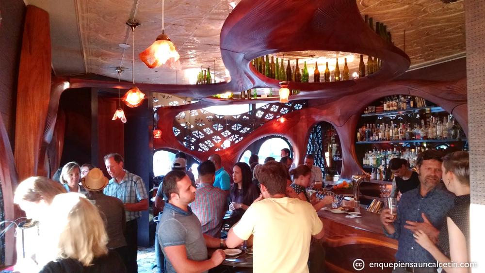 El ambientillo del bar Raval un martes por la noche (que Toronto está muerto a esas horas).