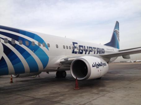 Egyptair. Egipto. Foto martínez enredando.info