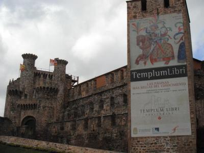 Castillo de Ponferrada enredando