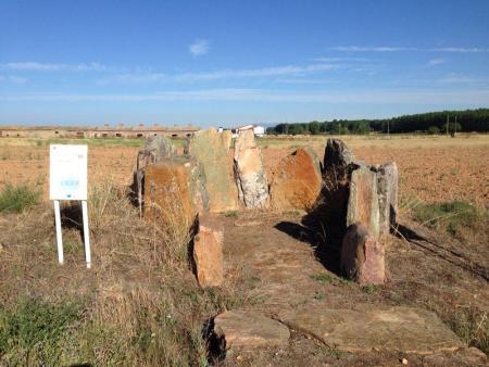 el dolmen de Las Peñezuelas