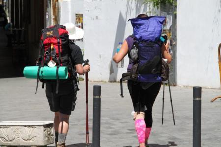 camino de santiago peregrinos