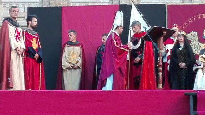 Recreación coronación Alfonso VI 2016