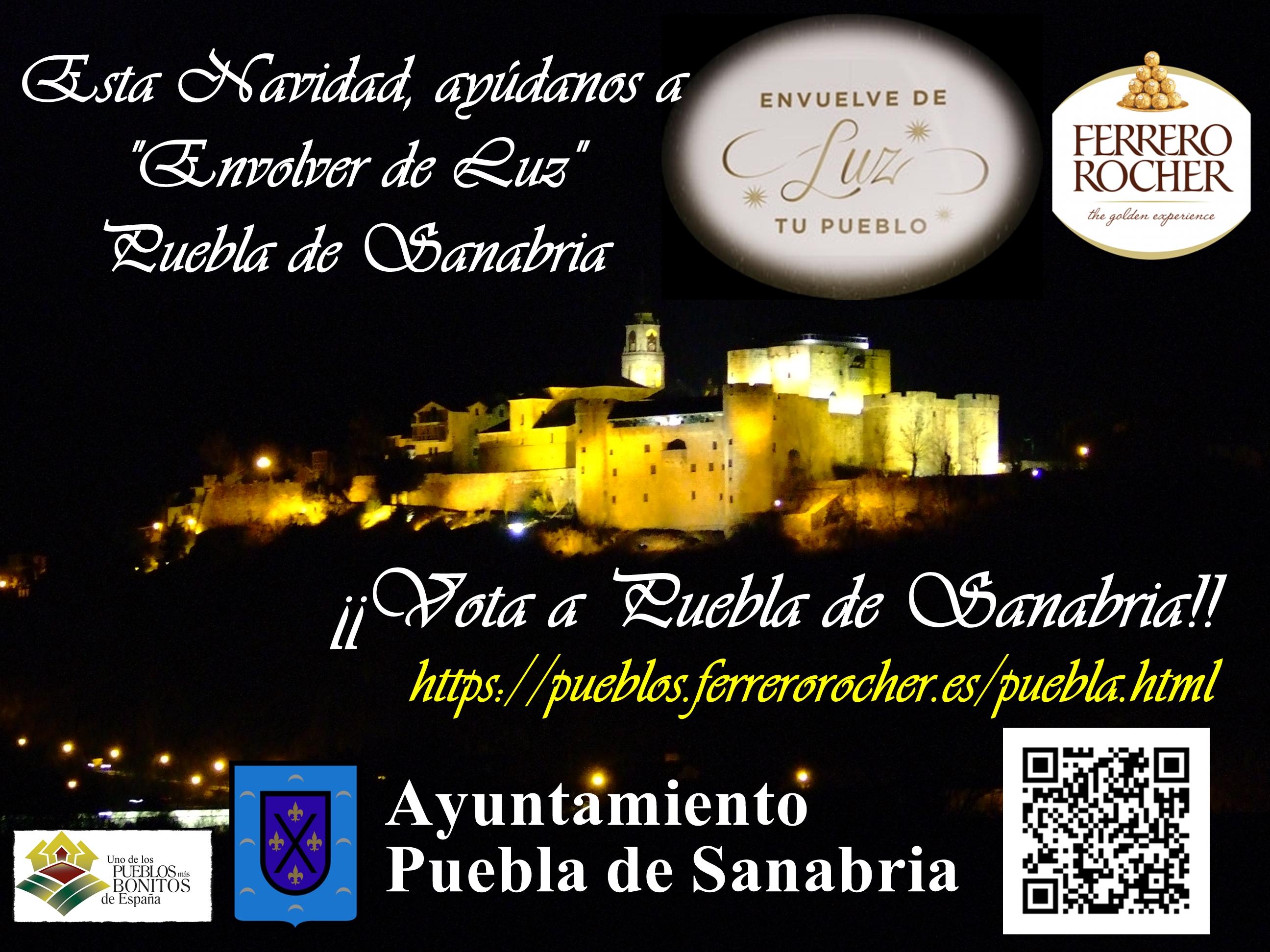 Puebla De Sanabria Es Uno De Los Seis Municipios Que Opta Este Año A Disfrutar De La Espectacular Iluminación Navideña De Ferrero Rocher