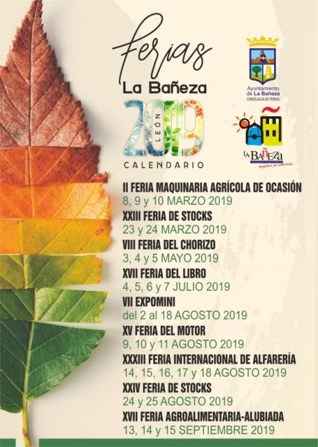 programa actividades la bañeza 2019