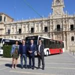 Nuevos autobuses urbanos