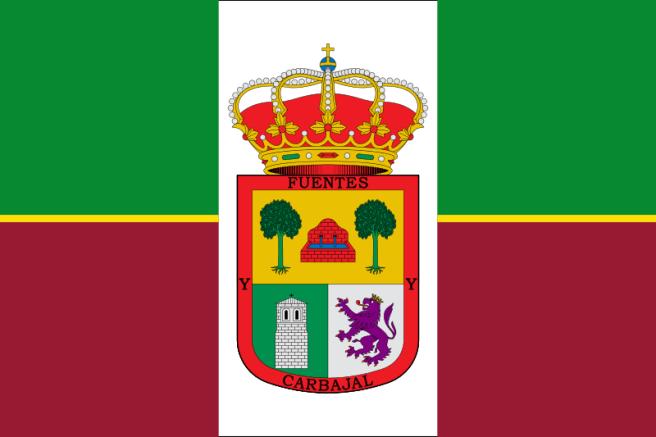 Bandera de Fuentes de Carbajal