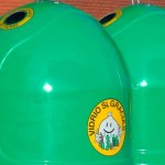 contenedores de vidrio en los municipios de la Reserva de la Biosfera