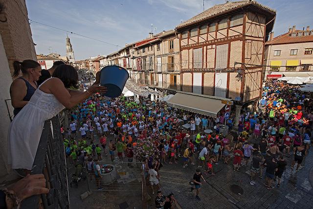 Ferias y Fiestas de San Agustin02. Tradicional Mojada