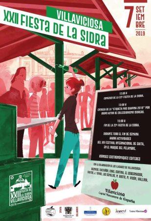 Cartel Fiesta de la sidra