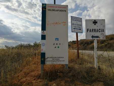 UPL reclama la recuperación del Camino de Santiago original en Valdelafuente
