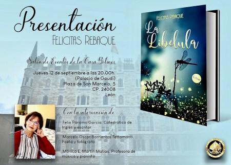 Casa Botines presenta 'La Libélula'