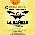 """1ª Feria de la cerveza artesana """"Halloween BeerFest"""""""