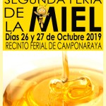 CARTEL II FERIA MIEL Camponaraya