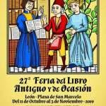 XXVII Feria del Libro de Antiguo y de Ocasión de León