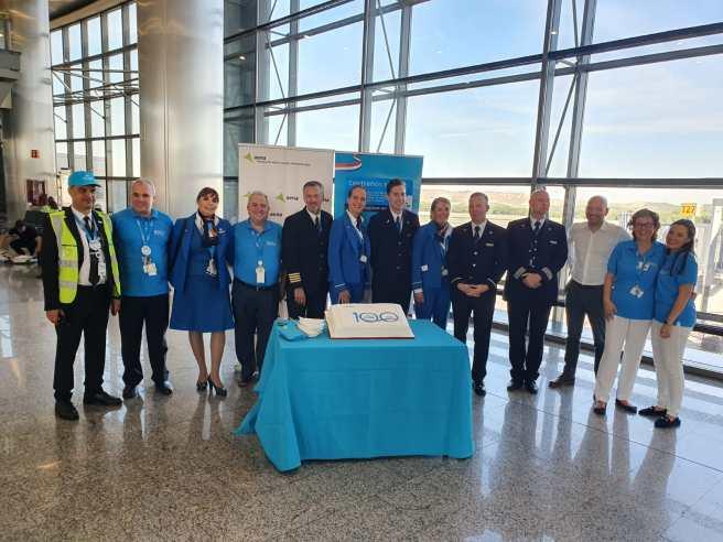 KLM cumple 100 años