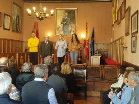 visita a Ciudad Rodrigo de la CASA de Salamanca en LEGANES 2