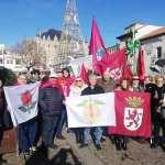 Manifestación apoyo moción segregación de León