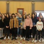 alumnos de intercambio del Colegio Santa Teresa.