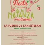 fiesta de la matanza tradicional La Fuente de San Esteban