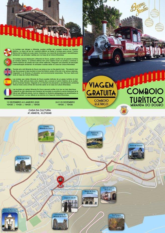 Comboio Turístico de Miranda do Douro