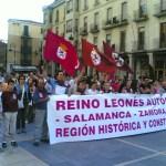 manifestación leonesista 2006