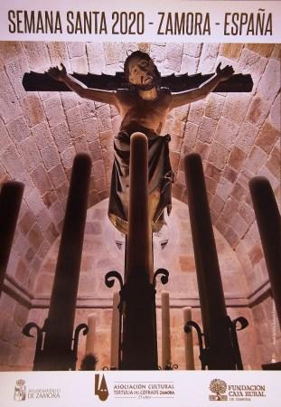 cartel anunciador de la Semana Santa de la Tertulia del Cofrade de Zamora