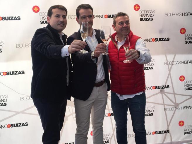 fiesta anual de Bodegas Hispano Suizas en Valencia