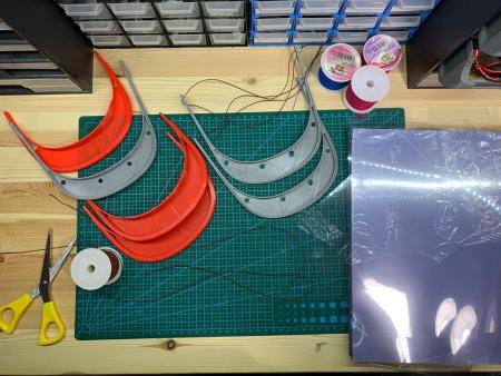 la UPSA fabrica material sanitario contra el COVID-19 con impresoras 3D