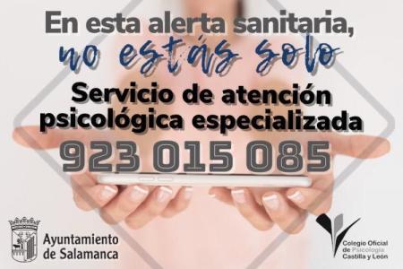 servicio gratuito de atención psicológica de Salamanca