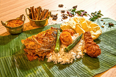 BANANA LEAF RICE Tourism Malasya Corporate
