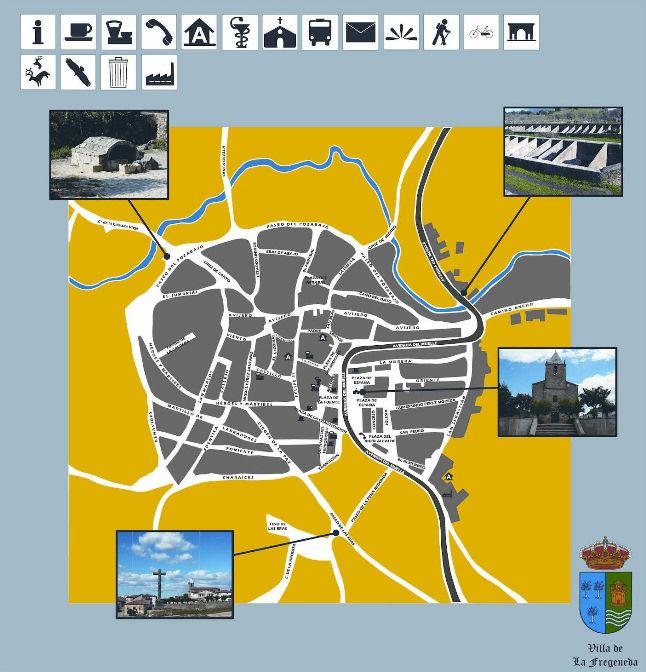 Casco urbano La Fregeneda