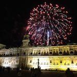 fuegos artificiales fiestas san juan y san pedro león