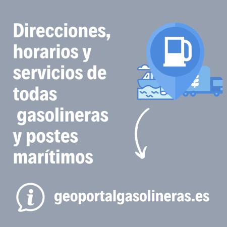 Gasolineras y puntos marítimos abiertos durante el estado de alarma