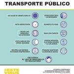 normas para viajar en transporte público