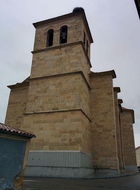 iglesia de san silvestre villares de la reina
