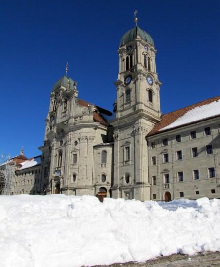 Monasterio de Einsiedeln, Suiza, donde se inicia la Guía de Hermann Künig