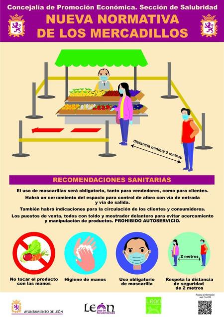 mercados Ayuntamiento de León