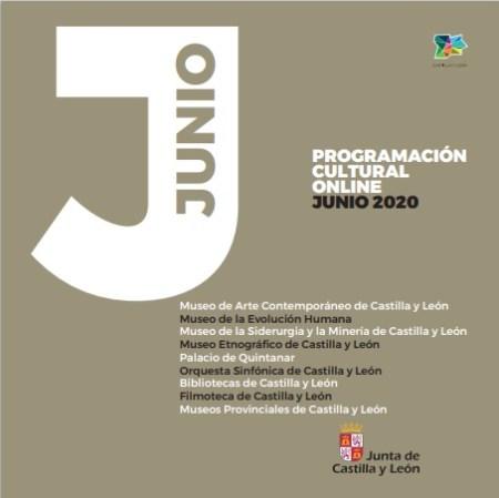 programa cultural on line junio 2020