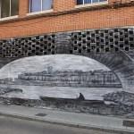 mural en el barrio de la Lana de Zamora