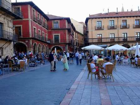 plaza mayor desescalada