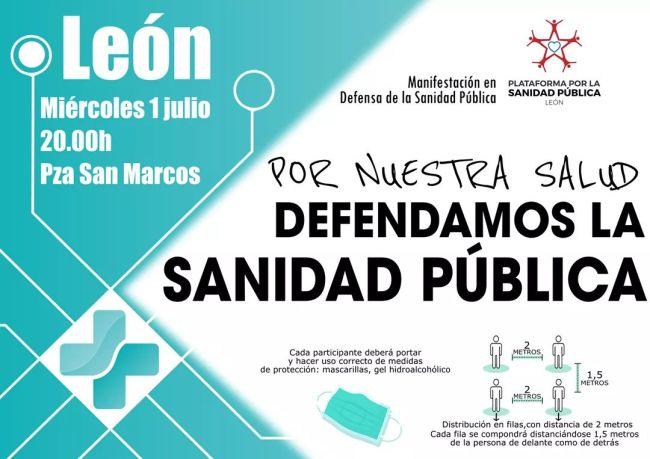 manifestación sanidad pública