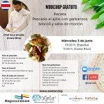 XANTAR SHOWCOOKING COCINA COSTA RICA CON EL CHEF SAUL UMAÑA