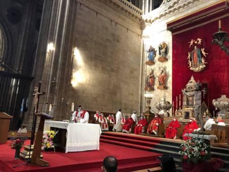 La Catedral de Salamanca acoge la Misa funeral por todas las víctimas