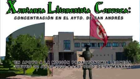 Cartel concentracion San Andrés 30 Junio